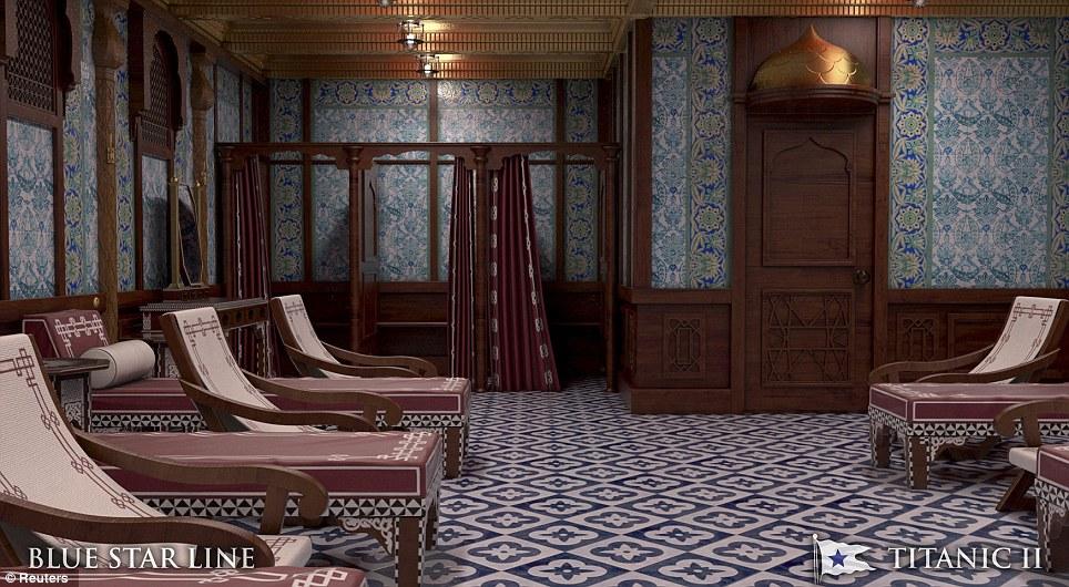 Titanic II decor