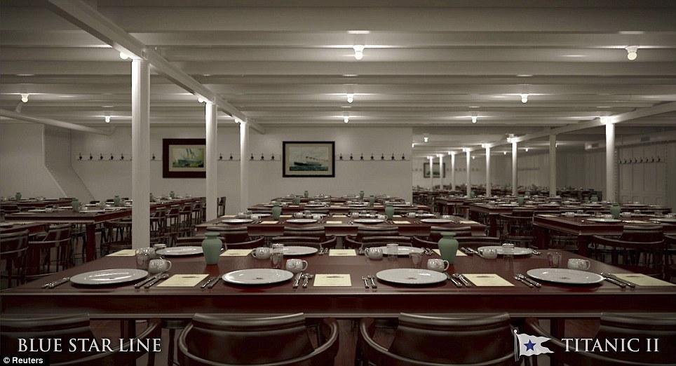 Titanic II dining room