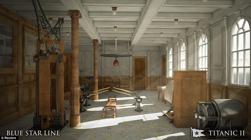 Titanic II gym