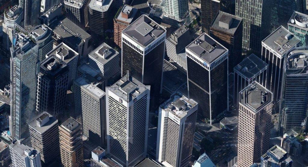 Vancouver tilted buildings google maps2