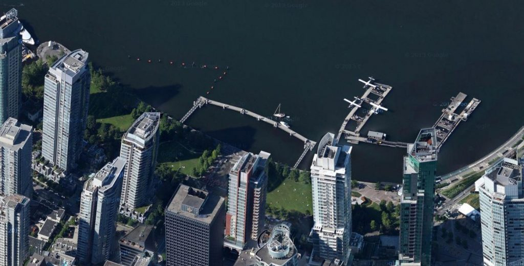 Vancouver tilted buildings google maps4