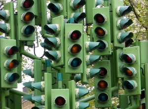 Virtual traffic lights could replace the real thing