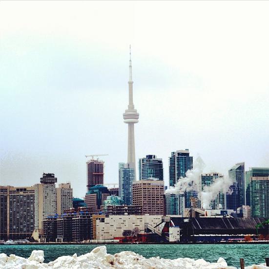 The ever-evolving Toronto skyline.