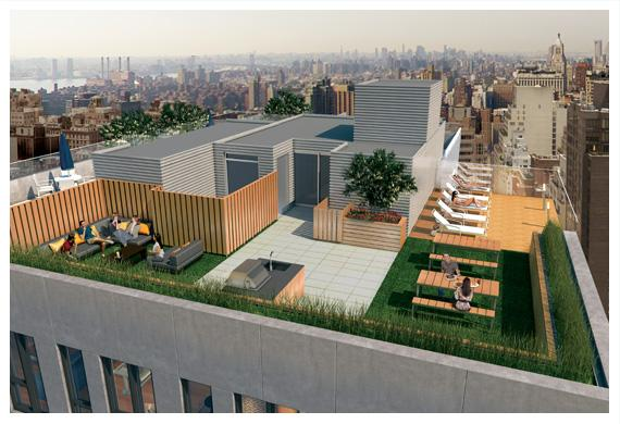 160 east 22nd outside terrace