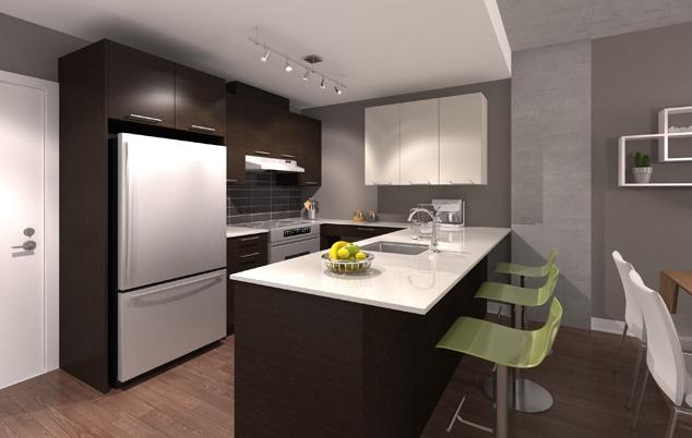 muz condos kitchen samcon