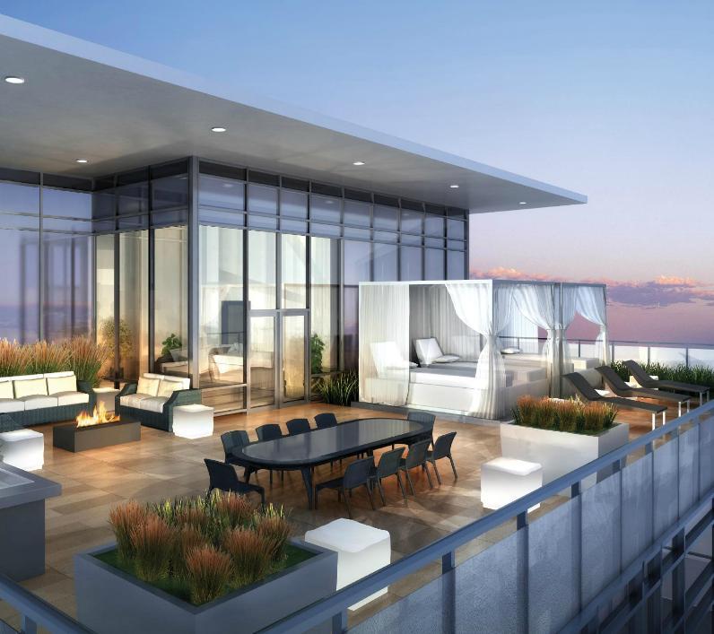 Axiom Condos Toronto Sky Deck