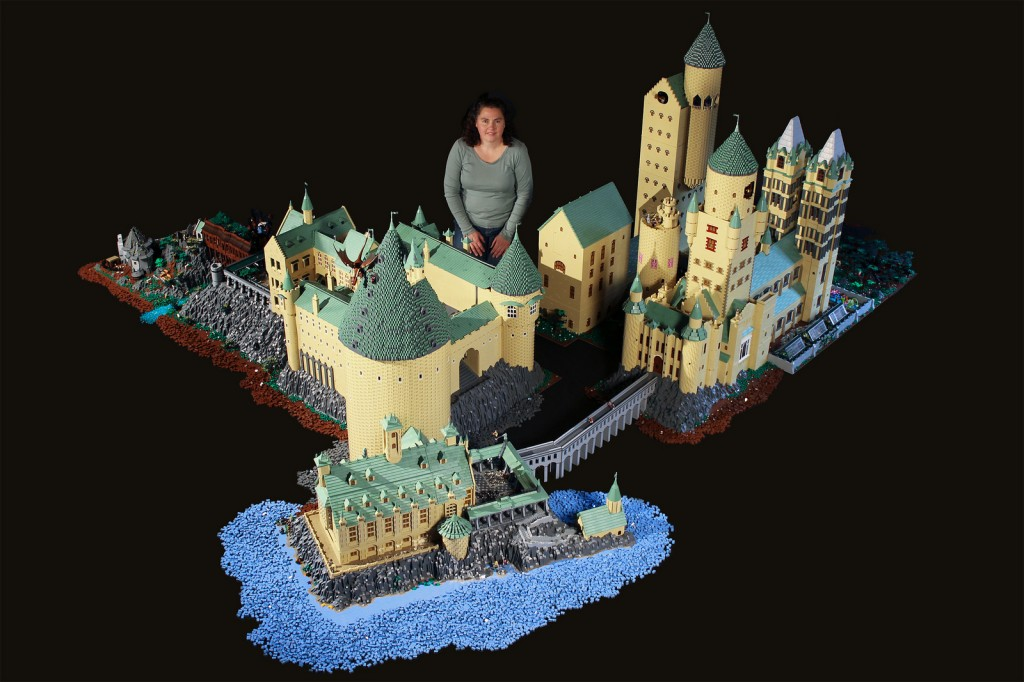 Harry Potter lego Hogwarts castle