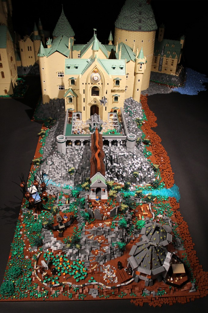 Harry Potter lego Hogwarts castle3