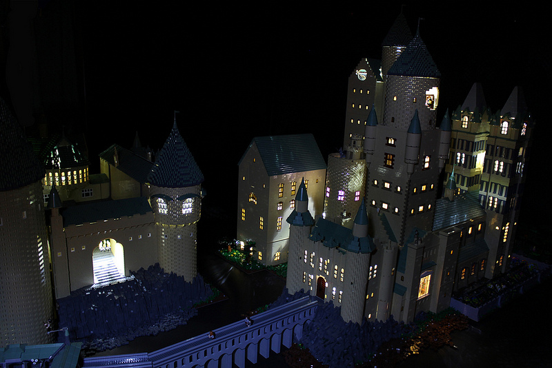 Harry Potter lego Hogwarts castle4