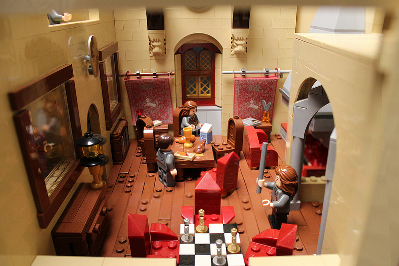Harry Potter lego Hogwarts castle5