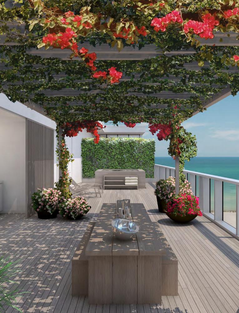 Residences Miami Beach EDITION garden
