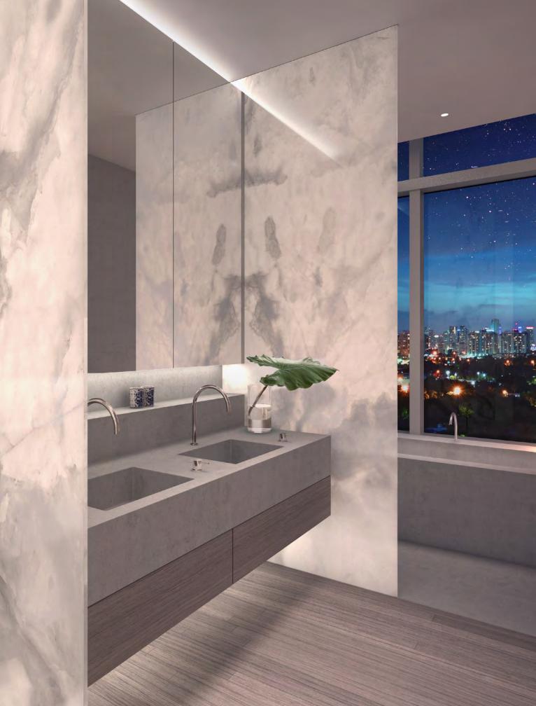 Residences Miami Beach bathroom