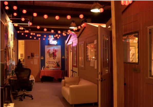 Pixar office California