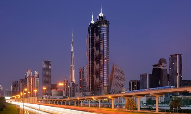 Tallest hotel in the world in Dubia