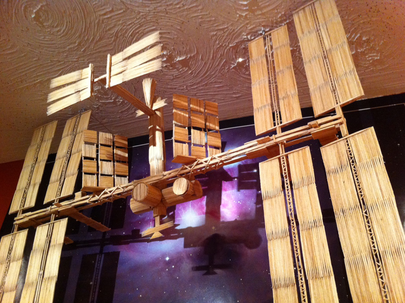 Toothpick International Space Station
