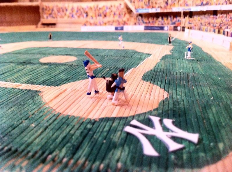 Toothpick New York Yankees Stadium