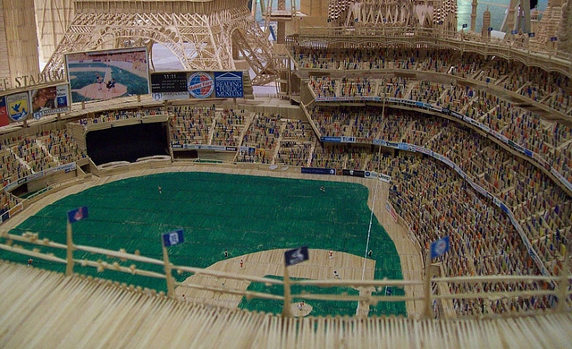 Toothpick New York Yankees Stadium1