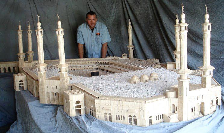 Toothpick al-Haram mosque