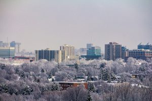 Flickr photo Downtown in Winter 2 by Matthew M S