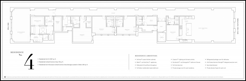 Whitman 4th Floor Plan