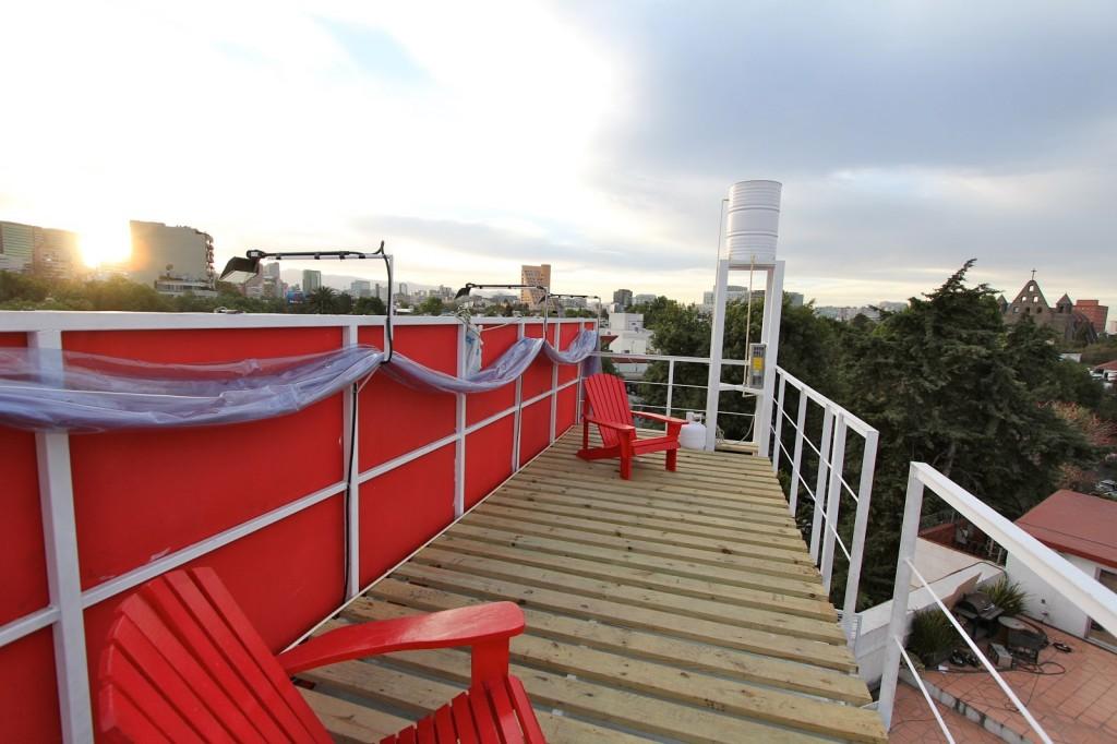 billboard home rooftop
