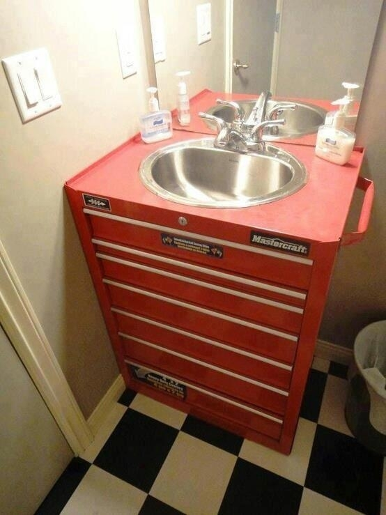manteresting 3 toolbox sink