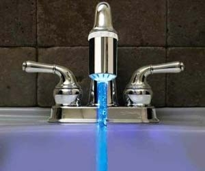 manteresting 5 LED faucet nozzle