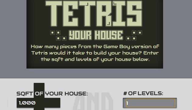 tetris blocks per house