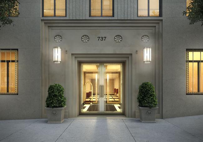737 Park Ave entrance