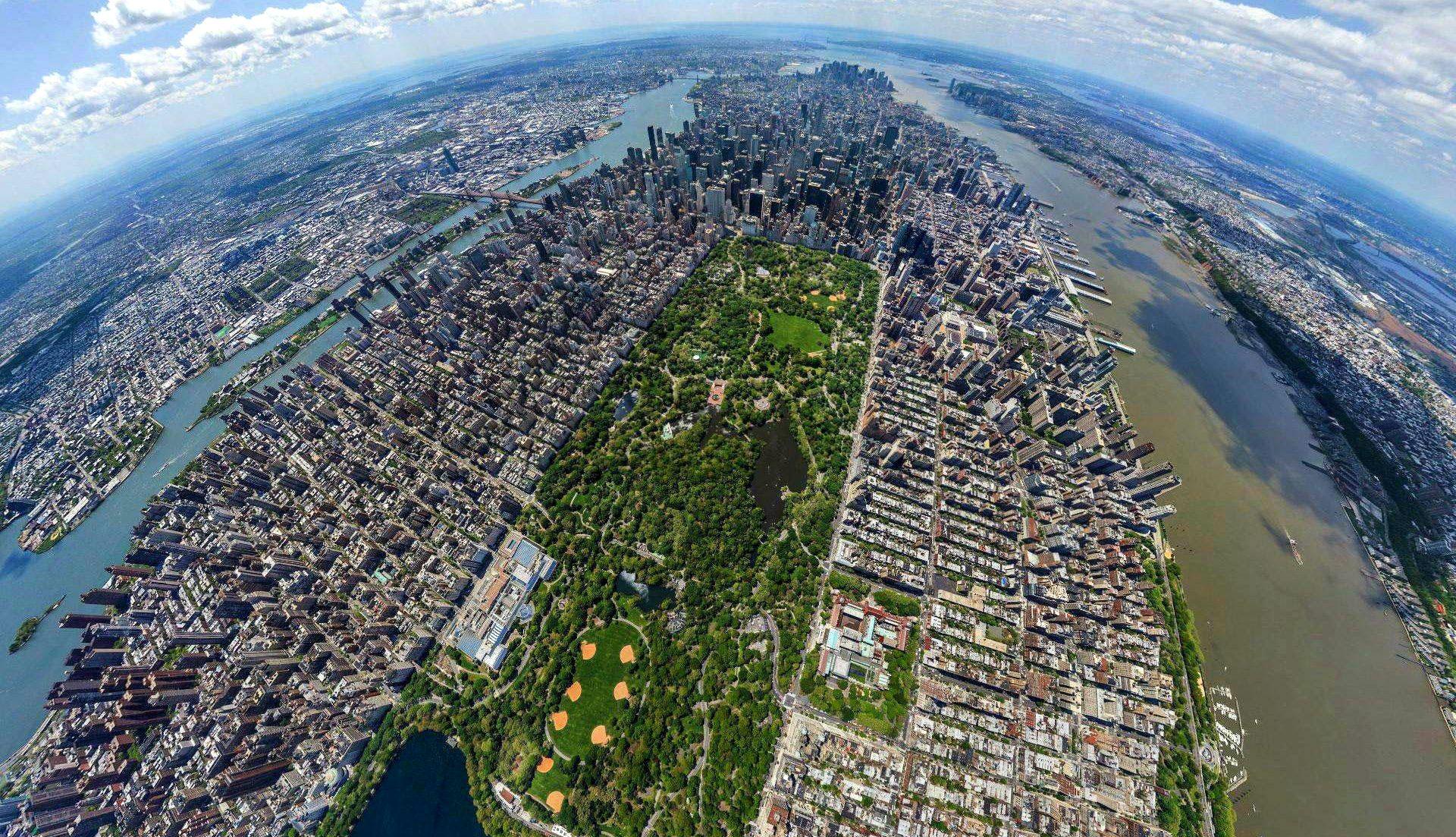 New York aerial