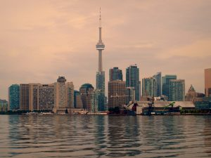 Toronto's Skyline at Sunrise Flickr photo By MSVG