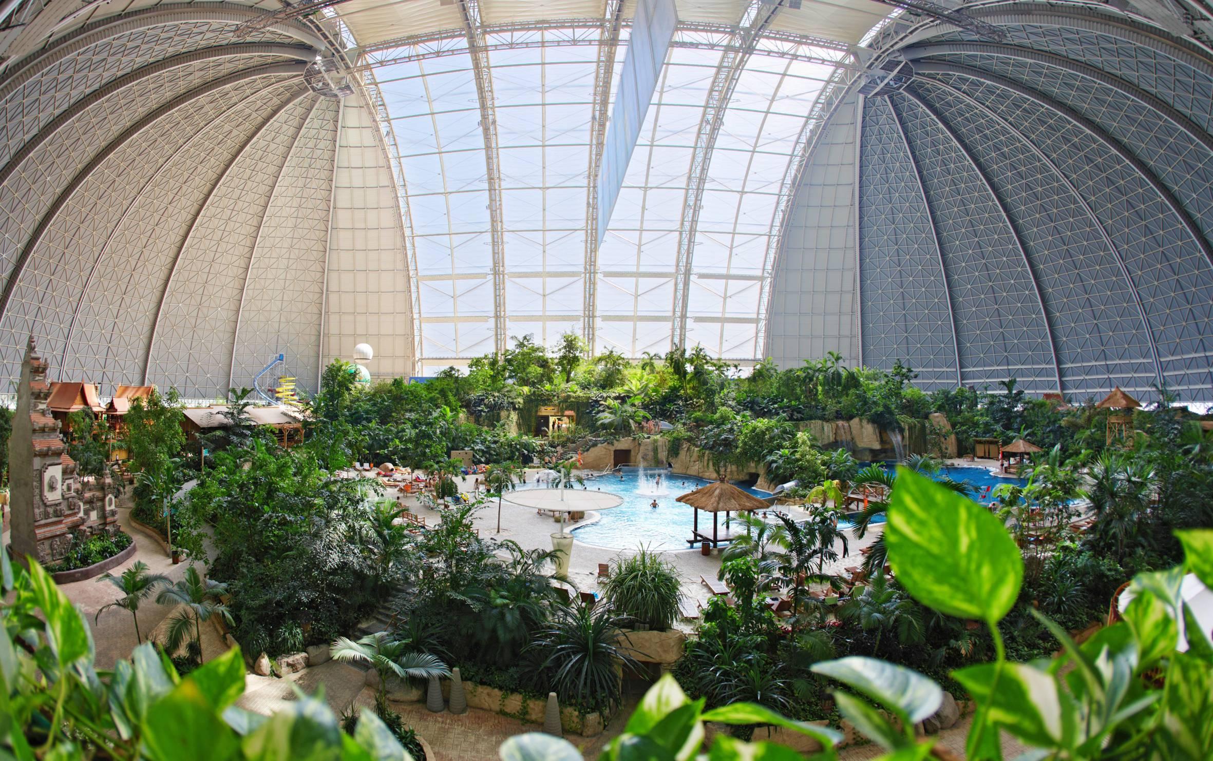 Tropical Islands Resort: Top 7 Brilliantly Repurposed Buildings