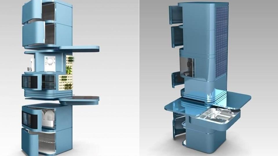 Vertical kitchen1