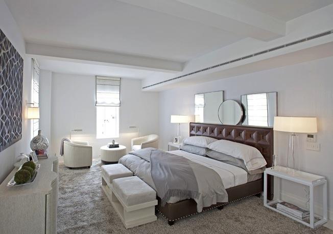 737 Park Avenue bedroom