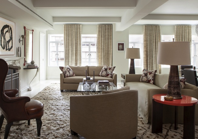 737 Park Avenue living room