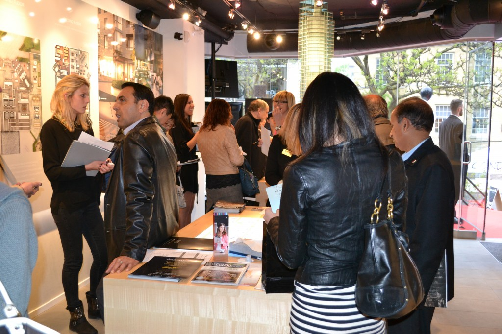 Attendees were thirsty for more info on Chaz Yorkville and last night's incentives!