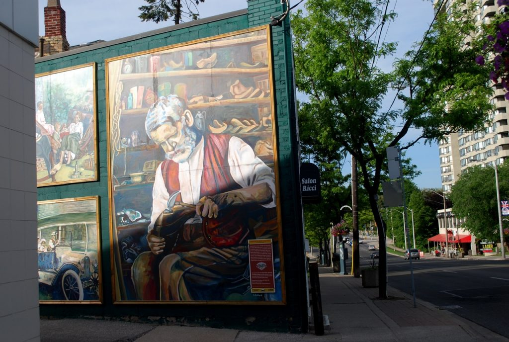 Islington Village murals