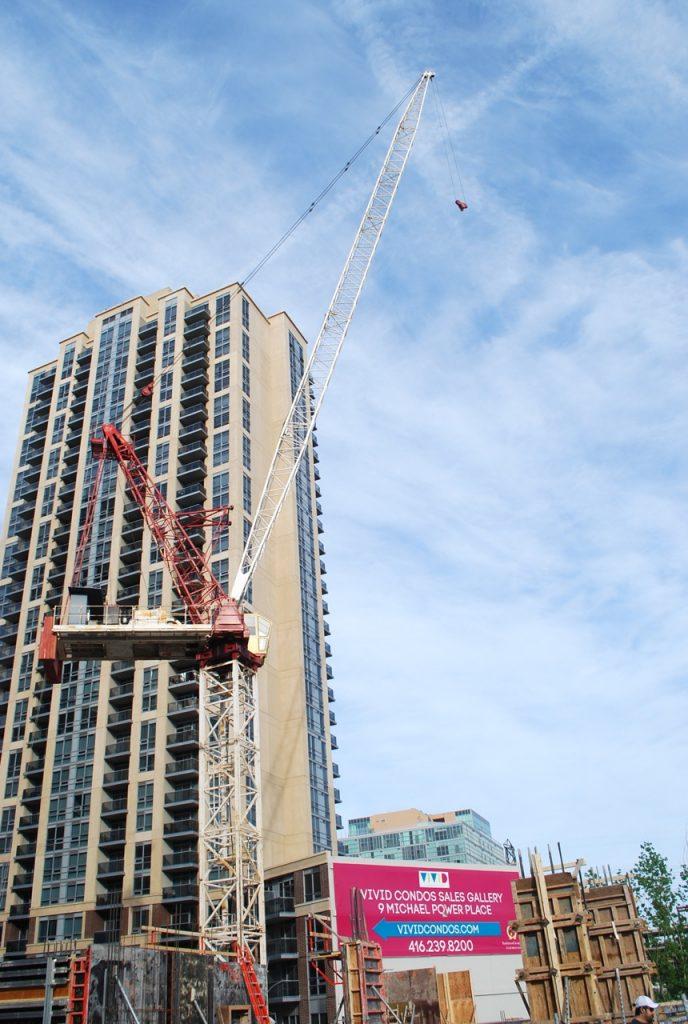 Vivid Condos construction
