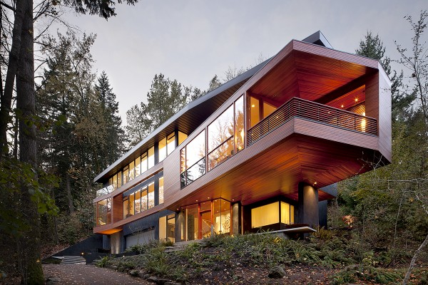 The Hoke House in Portland, OR, will forever be remembered as the Home of Edward Cullen and his family in the Twilight saga. A+ for architecture!