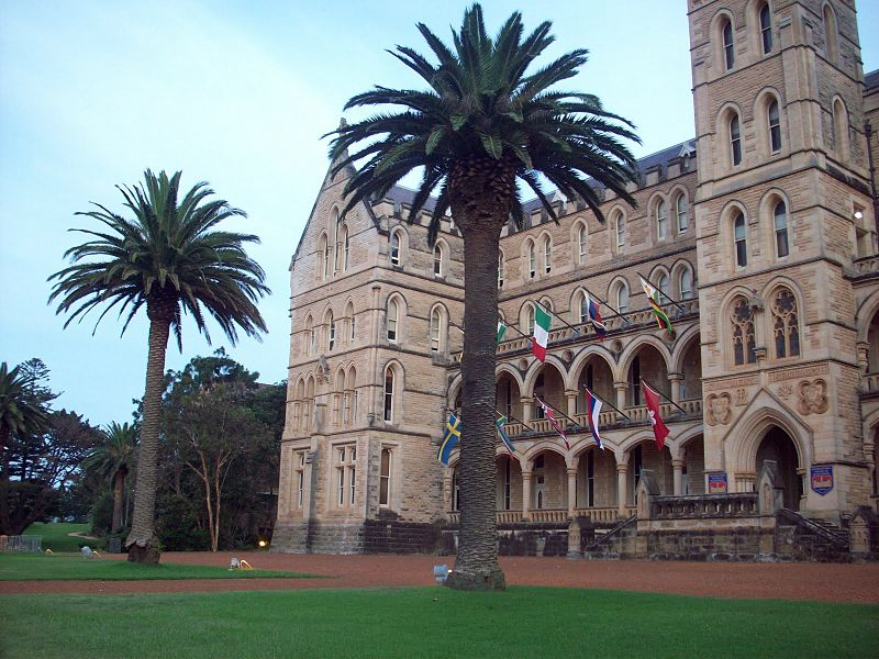 The College of Management in Sydney, AU, was used for the exterior of Jay Gatsby's estate in The Great Gatsby.