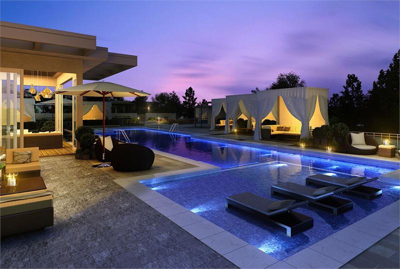 Park Avenue Club PA pool