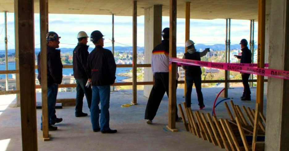 Promontory construction tour in Victoria