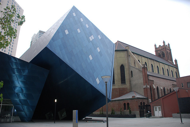 Contemporary Jewish Museum, San Francisco, by Daniel Libeskind Flickr Photo by CTG/SF