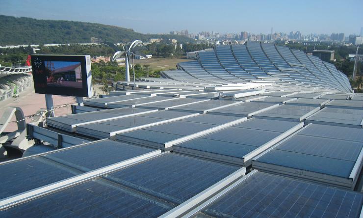 Taiwan's solar stadium-1