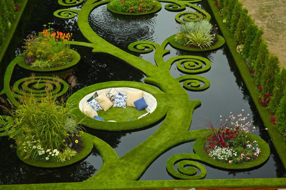 This water garden
