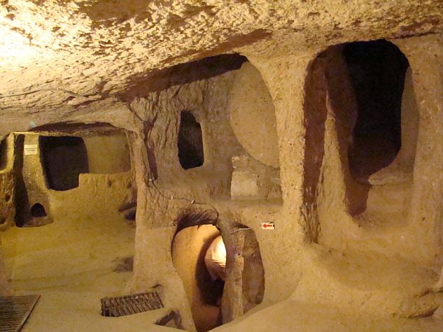 La Capadocia ciudad subterranea de Kaymakli Flickr Photo by La Capadocia ciudad subterranea de Kaymakli