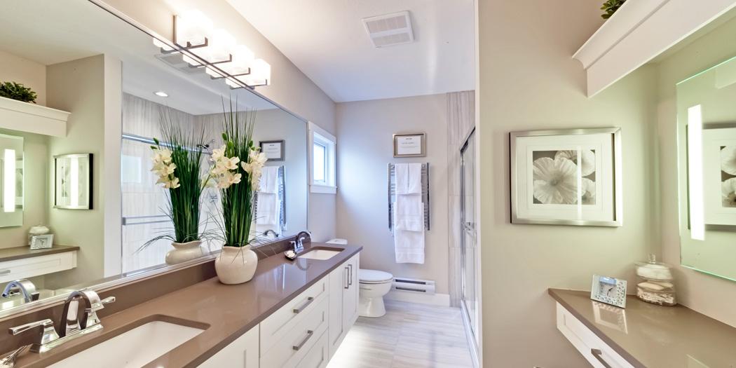 Zen Townhomes master suites