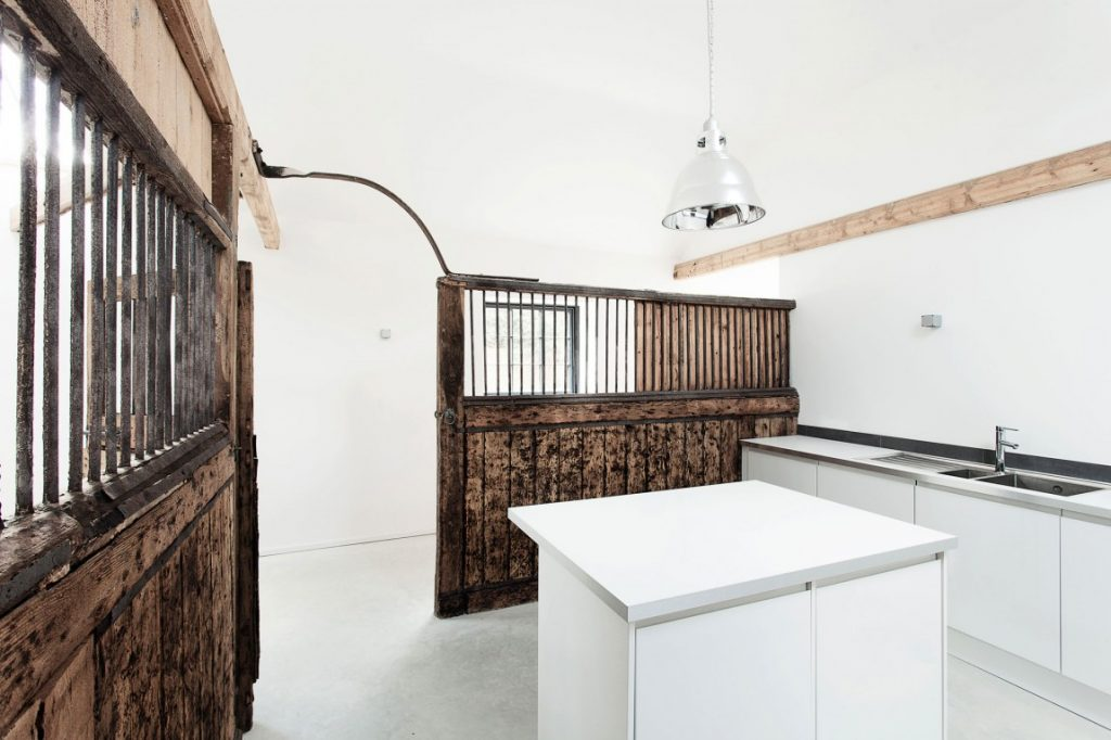converted horse stables