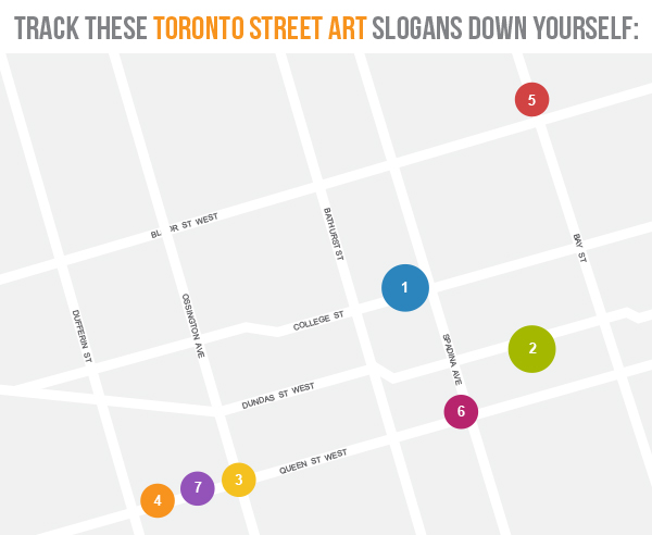 toronto street art map