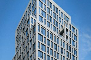 160 East 22nd exterior detail